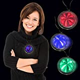 : LED Infinity Fusion Necklaces - 12 Pack