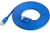 Maximm Cat6 Flat Ethernet Cable 0.6ft - 20ft Various Sizes and Packs