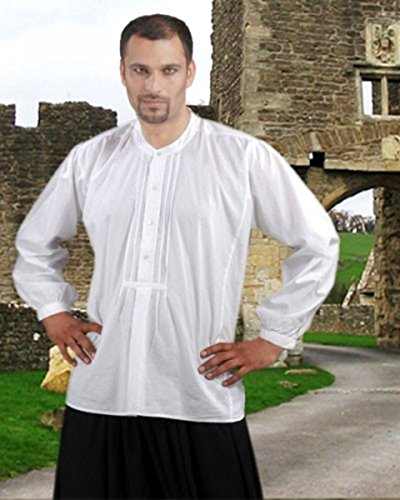 Warriors Medieval Pirate Shirt - White