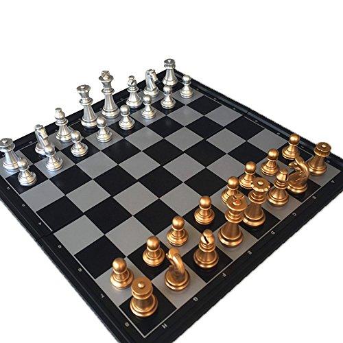 Schachspiel Kunststoff Magnetisch Pädagogisches Chess Game Folding Schachbrett für 6 Year Kinder 25x25cm