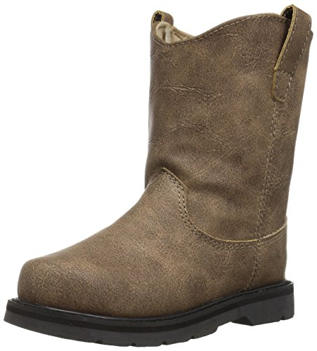 Baby Deer Baby 02-6782 Western Boot, Brown, 6 Child US (Toddler Boy Western Boots)