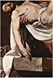 Caravaggio Putting Christ in the Tomb Art Print Poster 13 x 19in