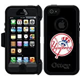 iphone 5 case new york yankees - Coveroo Defender Series Black Cell Phone Case for iPhone 5/5s - Retail Packaging - Newyork Yankees