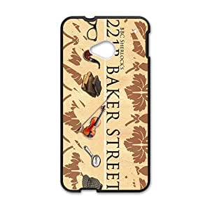 221B Baker Street Cell Phone Case for HTC One M7 by Maris's Diary