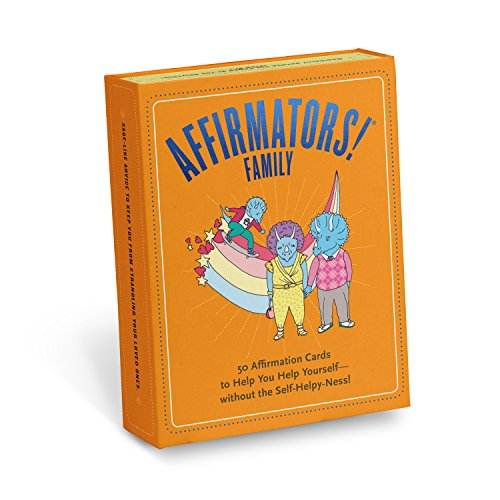 Affirmators! Family Deck: 50 Affirmation Cards on Kin of All Kinds - Without the Self-helpy-ness!