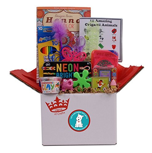 Queen of Crafts - Birthday Gift or Summer Camp Care Package for the Creative Girl
