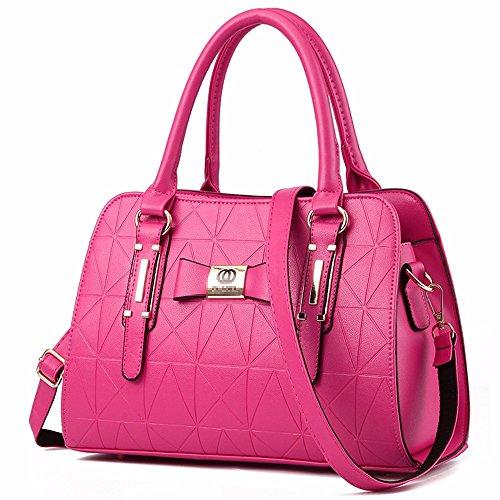 rojo Bolso Mujer al Gules rosado Hombro BMKWSG para 8zSqZp