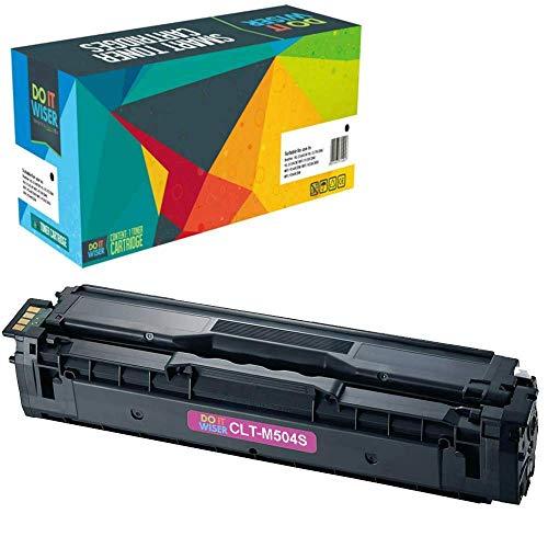 Do it Wiser CLT-M504S CLT504S Compatible Toner for Samsung CLP-415 CLP-415N CLP-415NW CLX-4195FW CLX-4195N CLP-470 CLP-475 CLX-4170 SL-C1810W Xpress C1860FW - Magenta