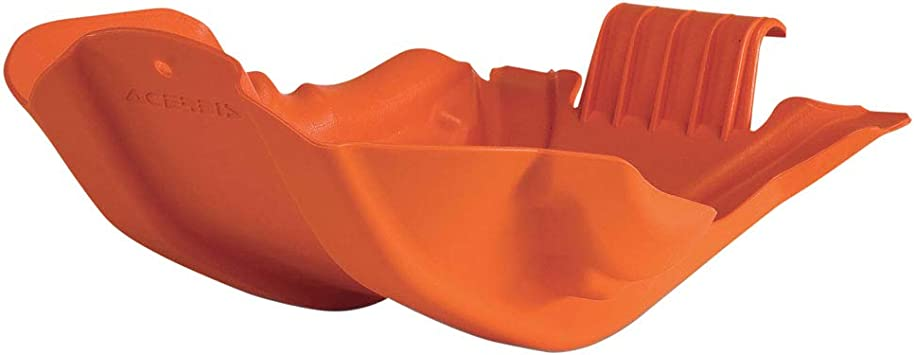 Acerbis Plastic MC Skid Plate Orange For KTM
