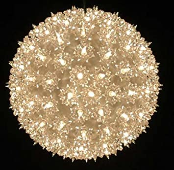 Amazon novelty lights inc ss150 cl commercial grade indoor novelty lights inc ss150 cl commercial grade indooroutdoor christmas starlight sphere mozeypictures Image collections