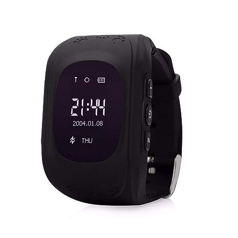 Amazon.com: HelloPet Q50 - Reloj inteligente con GPS, GPS ...