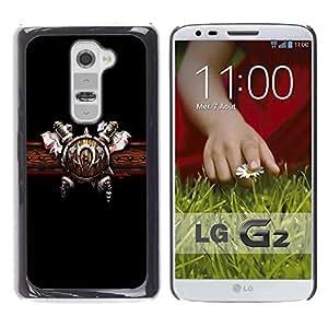 Be Good Phone Accessory // Dura Cáscara cubierta Protectora Caso Carcasa Funda de Protección para LG G2 D800 D802 D802TA D803 VS980 LS980 // Warrior Shield & Ace
