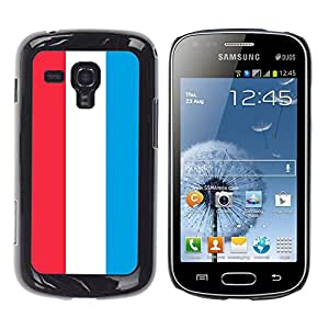 - Flag - - Hard Plastic Protective Aluminum Back Case Skin Cover FOR Samsung GALAXY Trend Duos S7562 Queen Pattern