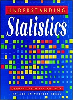 Book Understanding Statistics by Upton, Graham, Cook, Ian (1997)