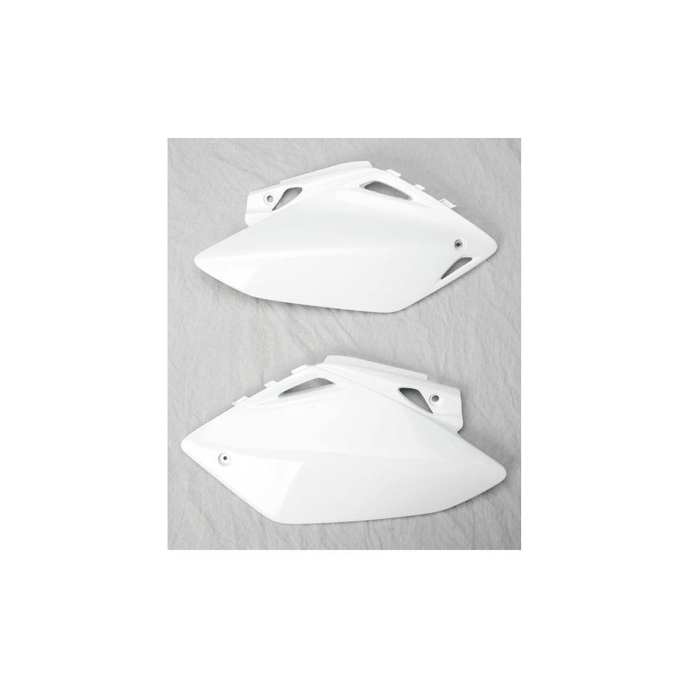 UFO HO04620-041 Replacement Plastic FOR HONDA PANEL SIDE HON CRF150 WHITE