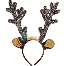Antler Headband Christmas Accessory