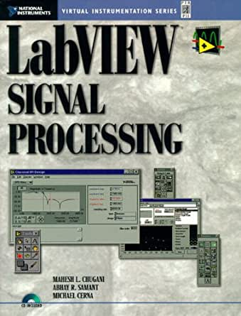 Amazon Com Labview Signal Processing Ebook Mahesh L
