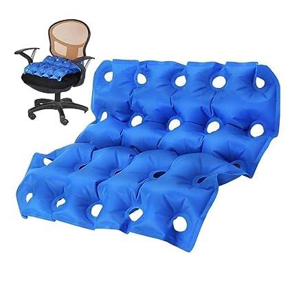 Inflatable Seat Cushion >> Kogk Air Inflatable Seat Cushion 17 X 17 Memory Foam
