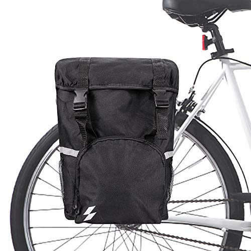Allnice Trunk Bag Bicycle Panniers Pack Cycling Luggage Accessories Waterproof Rear Seat Pannier Bag