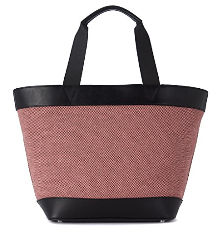 Sac shopping Alexander Wang Tote rose et noire
