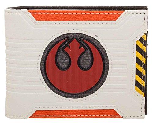 Star Wars Wallet Rebel Chrome Logo Weld Patch Official Bifold
