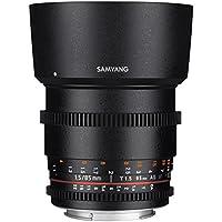 Samyang SYDS85M-MFT VDSLR II 85mm T1.5 Cine Lens for Olympus/Panasonic Micro 4/3 Cameras