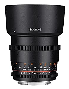 Samyang SYDS85M-N VDSLR II 85mm T1.5 Cine Lens for Nikon (FX) Cameras