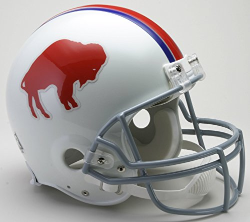 Riddell NFL Buffalo Bills 1965-1973 Throwback Authentic Vsr4 Full Size Football Helmet
