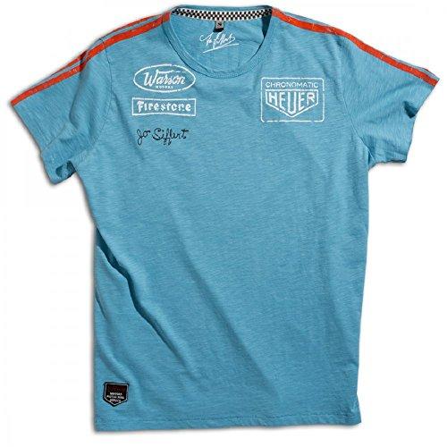 Warson Motors Targa Gulf Blue T-Shirt L Gulf Blue