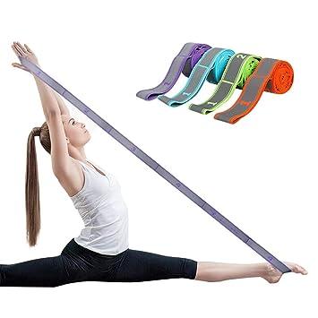 Grist CC Banda elástica de Estiramiento de Yoga con bucles ...