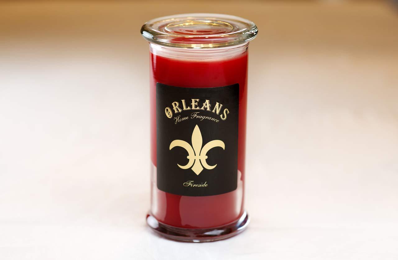 Orleans Home Fragrances Fireside 18oz Elite Candle