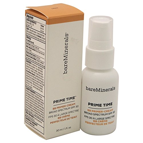 bareMinerals Prime Time BB Primer Cream SPF 30, Light, 1 Fluid Ounce