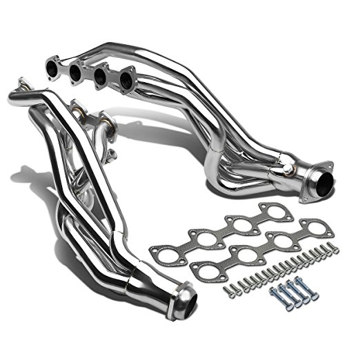 2000 Ford Mustang Headers - For 96-04 Ford Mustang High-Performance 8-2-1 Design 2-PC Stainless Steel Exhaust Header Kit GT