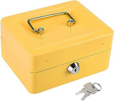 Caja Fuerte Portátil Caja de Seguridad con Combinación de 6 ...
