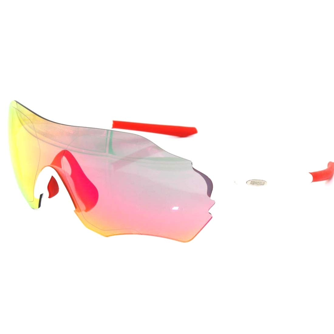 BAOYIT Polarized Sports Running Night Vision Riding Glasses Ultra-Light Frame Fishing Mountaineering Running Sports Glasses Men and Women (Color : White) by BAOYIT