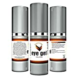 Under Eye cream for dark circles puffiness wrinkles and bags 1.7 oz - Best Eye Gel for Firming & Moisturizing - Hypoallergenic - For all skin types