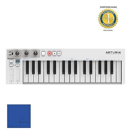 Amazon com: Arturia KeyStep 430201 32-key Compact Keyboard