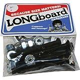 Shortys Single Longboard Skateboard Hardware Set - 2'