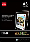RTL49 - A3 x 50 sheets for any Inkjet & Laser Printers (Copiers) - Back lit Paper / Lite Film  for LED Light Pocket / LED Light Panel / LED Lightbox - £66.00 + vat and Next day delivery is available