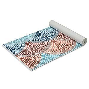 Amazon.com : Gaiam Yoga Mat Premium Print Extra Thick Non