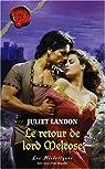 Le retour de Lord Melrose par Landon