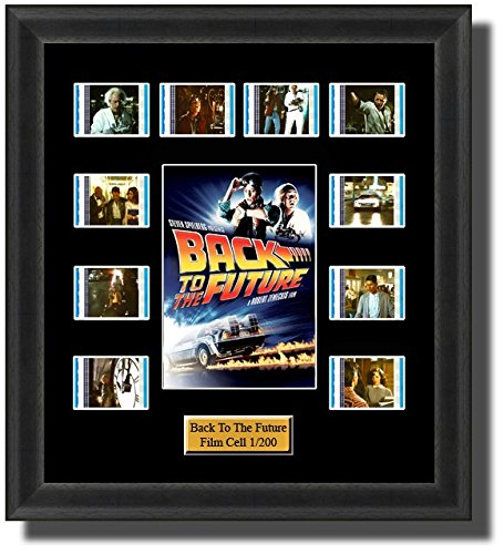 BACK TO THE FUTURE FRAMED FILM CELL PRESENTATION: Amazon.co.uk ...