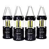 Best Camping Lantern Ultra Brights - LonHoo 4 pack Lantern Camping Light Energy Safety Review