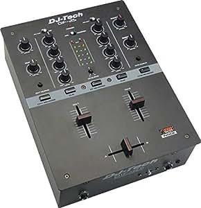DJ Tech DIF-2S full featured Mixer - Black