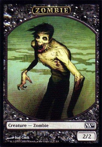 - Magic: the Gathering - Zombie Token - Magic 2010
