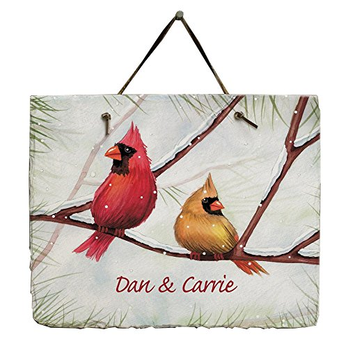 GiftsForYouNow Cardinals Personalized Slate ()