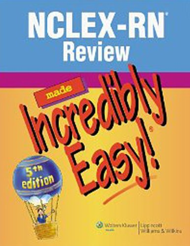 NCLEX-RN® Review Made Incredibly Easy! (Incredibly Easy! Series®) Pdf