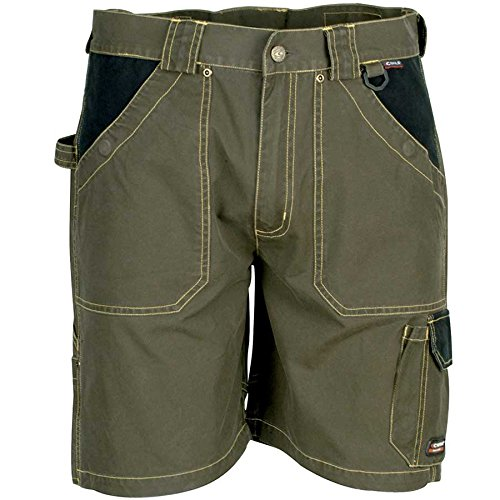 """Cofra V057-0-03.Z46 Arbeit Shorts """"Saragossa"""", schlamm grau / schwarz, Größe 46"""