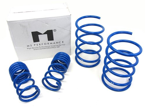 2005 2006 05 06 Acura RSX Base / Type S M2 Lower Lowering Springs Blue