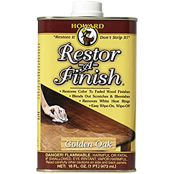 Howard RF3016 Restor-A-Finish, 16-Ounce, Golden Oak